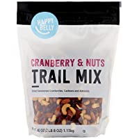 Amazon Brand Happy Belly Cranberry & Nuts Trail Mix 40oz