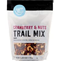 Amazon Brand - Happy Belly Cranberry & Nuts Trail Mix, 40 Ounce