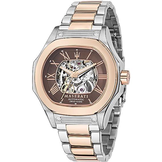 Maserati – Reloj Maserati acero – Hombre – Talla única