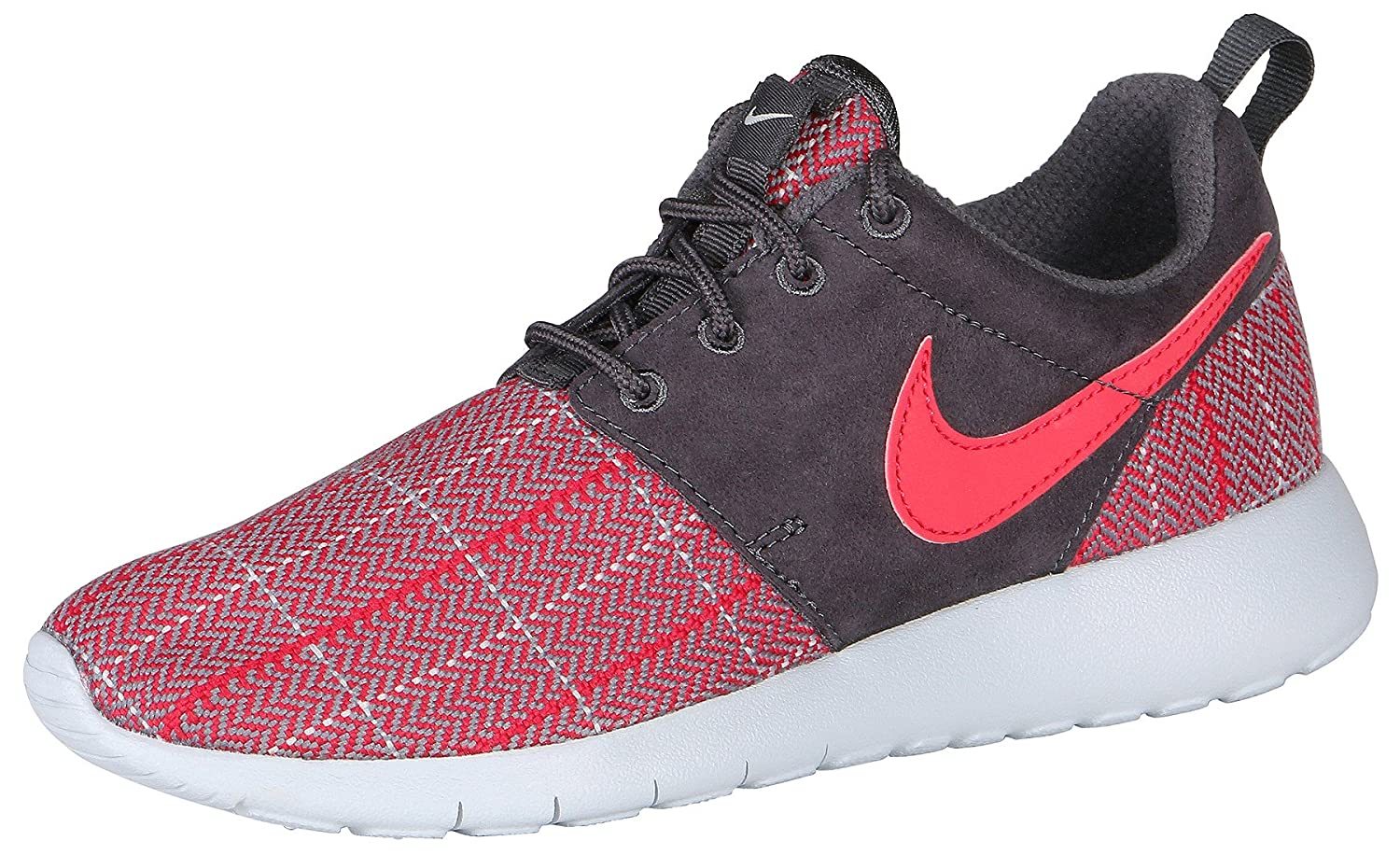 6937e4ba06b Amazon.com  Nike Youth Roshe One SE Running Shoes-Red Gray-5  Home   Kitchen