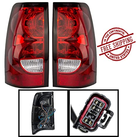 Chevy Silverado Replacement Tail Light Assembly - 1-Pair