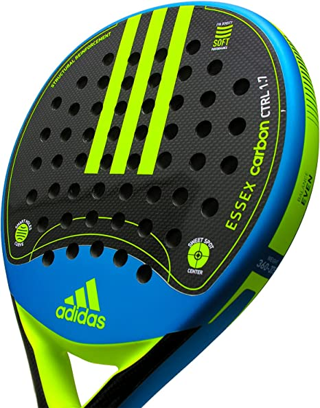 adidas Pala de pádel Essex Carbon Control 1.7 Yellow: Amazon.es ...