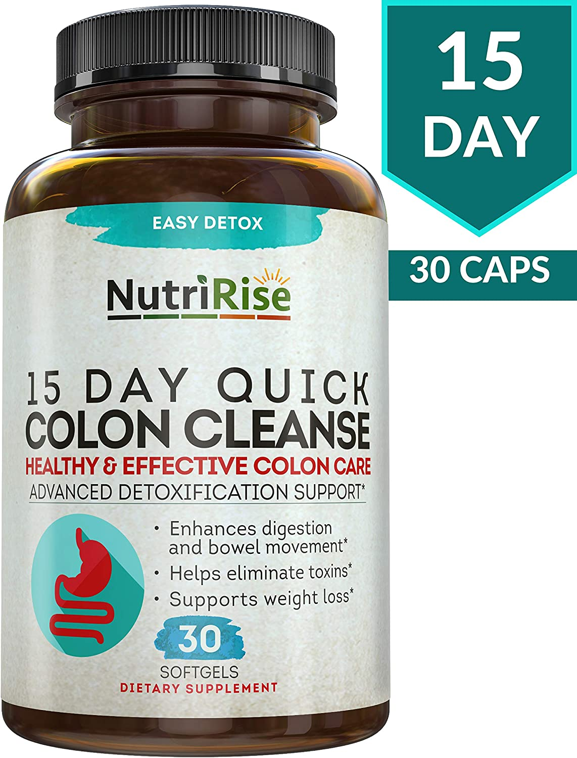 NutriRise 15 Day Quick Colon Cleanse