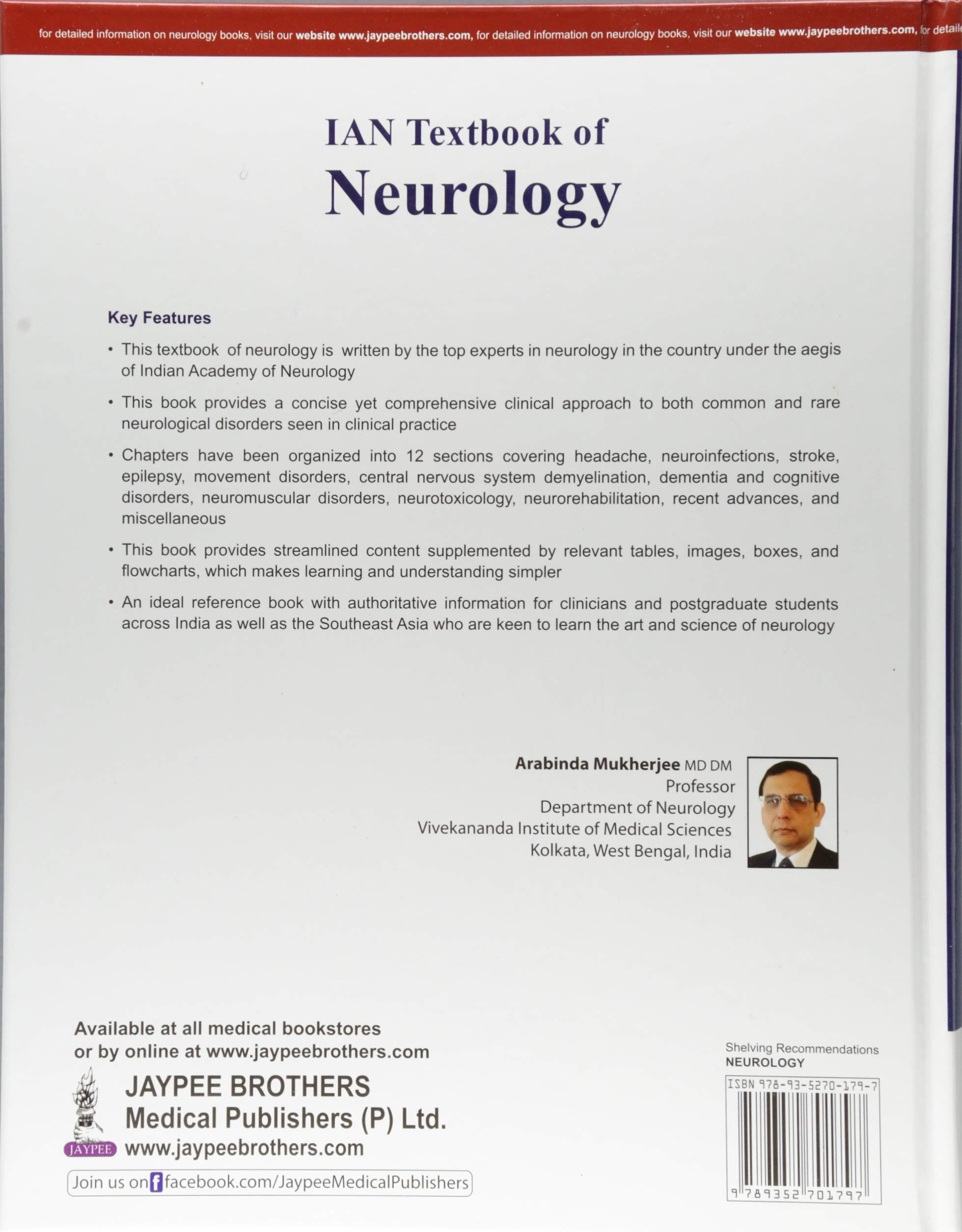 Buy IAN Textbook of Neurology Book Online at Low Prices in