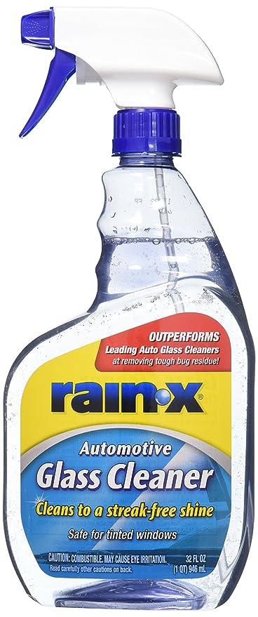 Amazon com: Rain-X 630019 Auto Glass Cleaner 32 oz , 32 fl