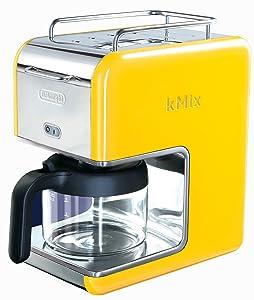 DeLonghi Kmix 5-Cup Drip Coffee Maker, Magenta