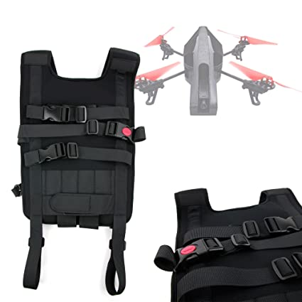 DURAGADGET Mochila/Arnés Ajustable para tranporte de Dron Qcopter ...