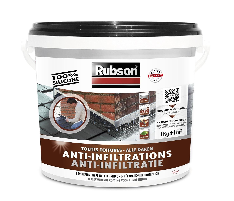 RUBSON 1384556 Stop Fuites Toutes Toitures (plates et incliné es) Noir 1kg B008F7YKY2