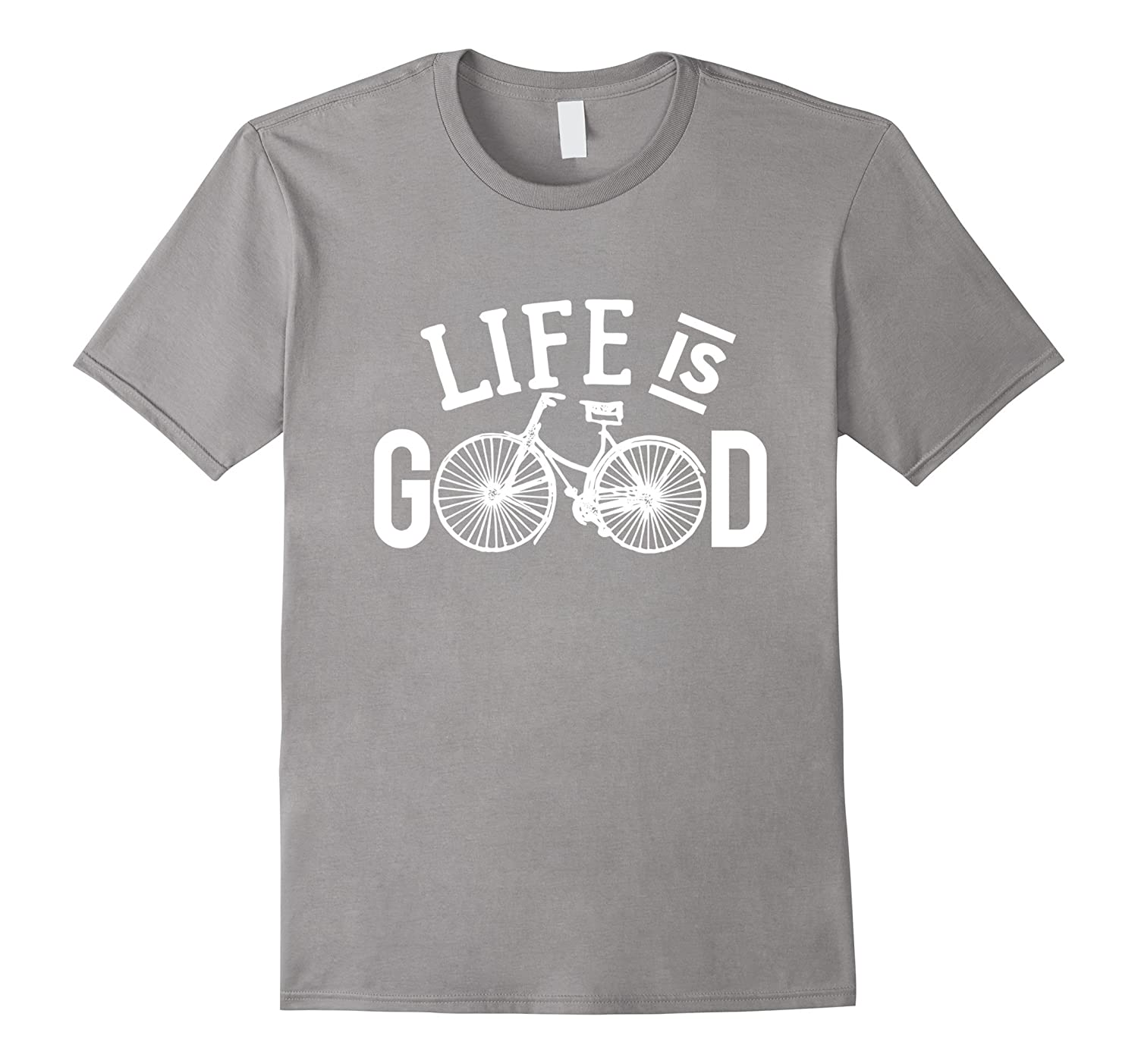 Life is good Bicycle T Shirt-CL