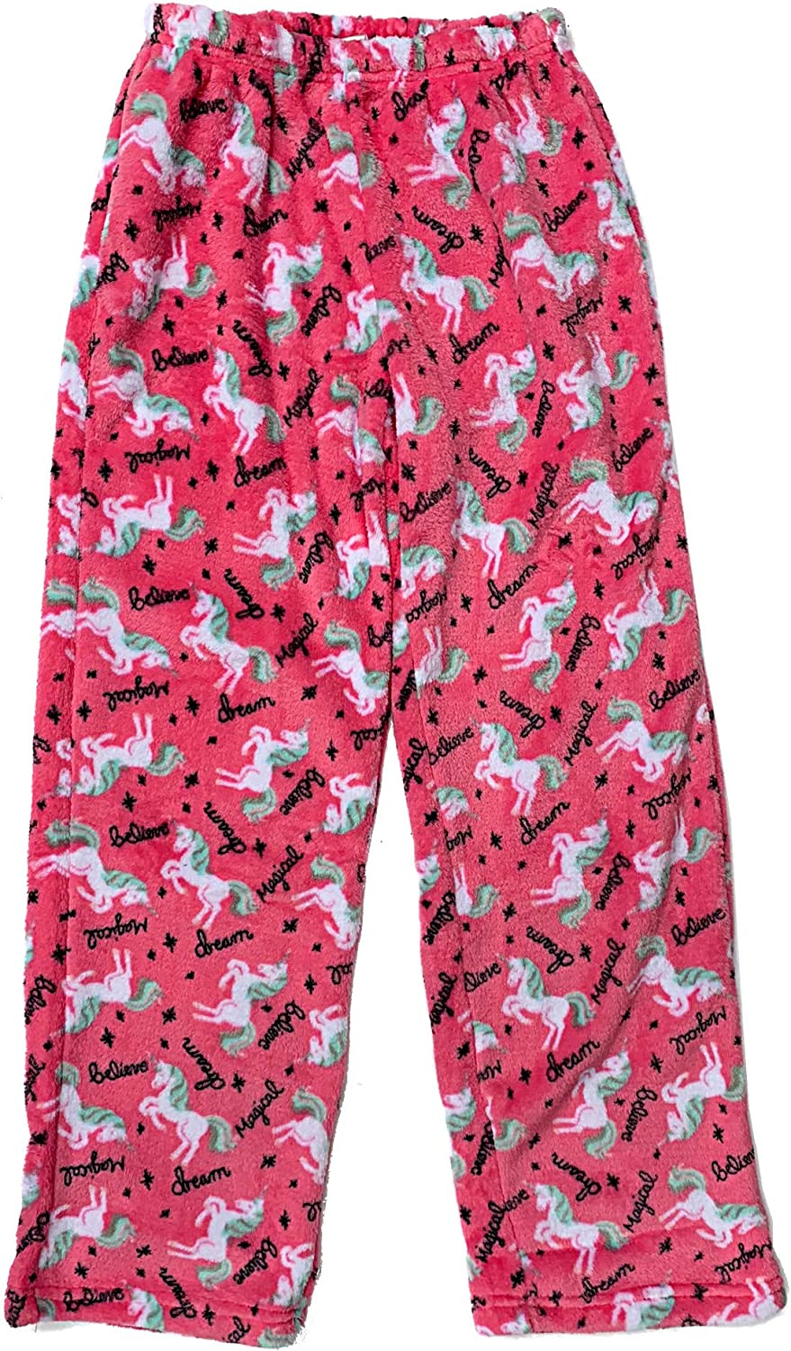 Popular Girls Fuzzy Fleece Pajama Pants