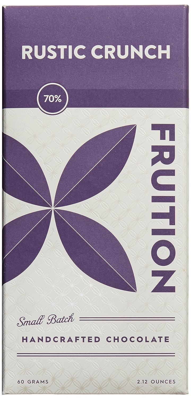 Amazon.com : Fruition Rustic Crunch Chocolate Bar, 2.12 oz ...