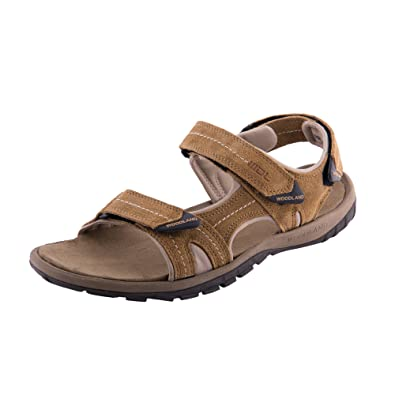 b27333b3f7fbf Woodland Men's Suede Leather Sandals: Buy Online at Low Prices in ...