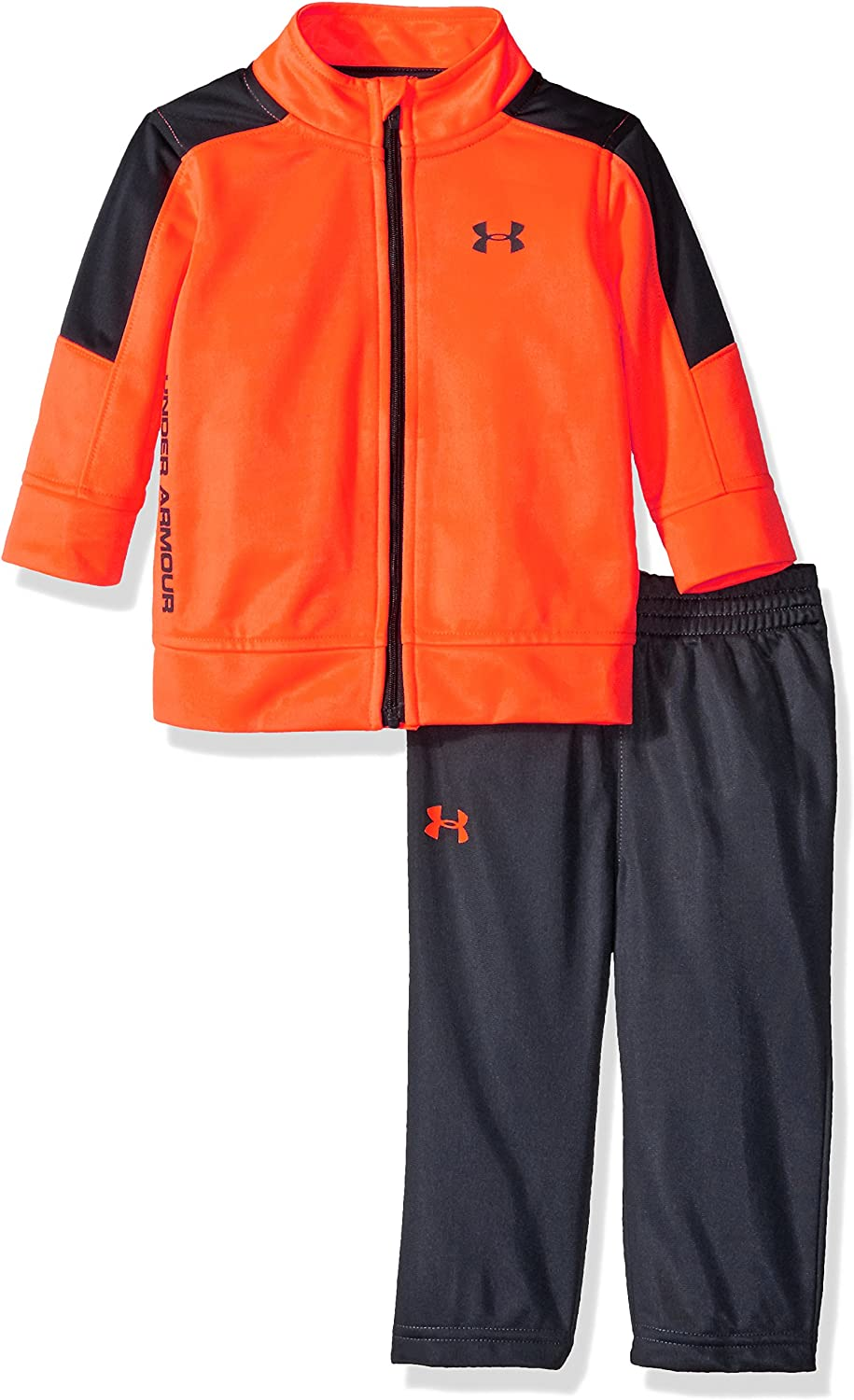 Under Armour boys Zip Jacket and Pant Set Tracksuit