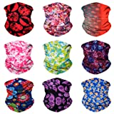 Amazon Price History for:SoJourner 9PCS Seamless Bandanas Face Mask Headband Scarf Headwrap Neckwarmer & More – 12-in-1 Multifunctional for Music Festivals, Raves, Riding, Outdoors(Many Designs)