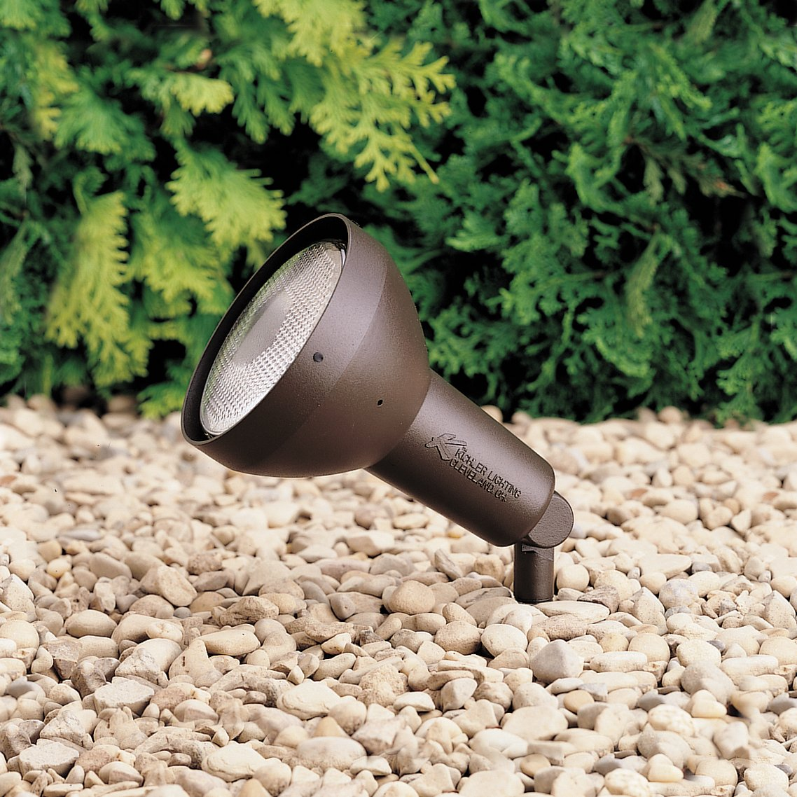 Kichler 15250azt hid high intensity discharge accent 1 light 120v kichler 15250azt hid high intensity discharge accent 1 light 120v textured architectural bronze landscape spotlights amazon aloadofball
