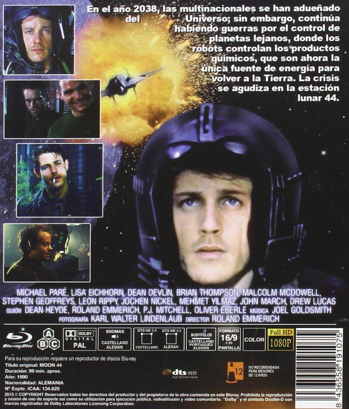 Amazon.com: Moon 44 (Region B) [ Non-usa Format, Import - Spain ]: Movies & TV