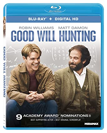 Amazon Com Good Will Hunting Blu Ray Digital Hd Robin Williams