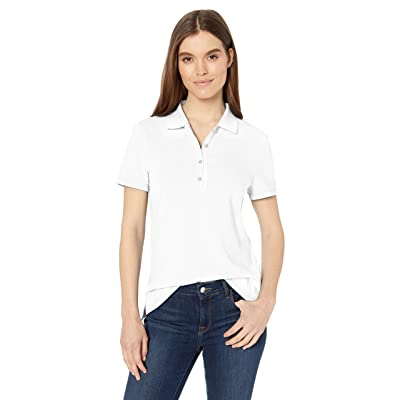 Essentials Women's Short-Sleeve Polo: Clothing