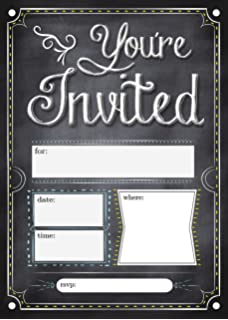 Amazoncom Hallmark Party Invitations Lets Celebrate with Gold