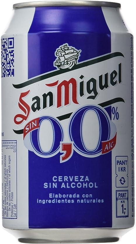 San Miguel Cerveza sin Alcohol - 33 cl: Amazon.es ...
