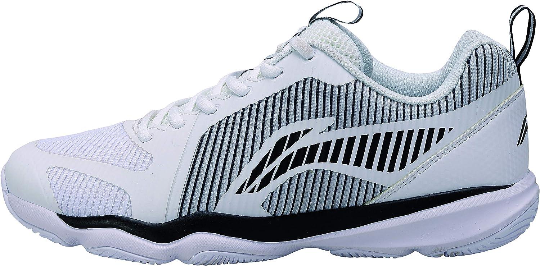 Li Ning AYTN053-1 Ranger TD - Zapatillas de bádminton para Hombre, Color Blanco: Amazon.es: Zapatos y complementos