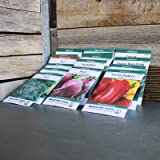 Heirloom Vegetable Garden Seed Collection