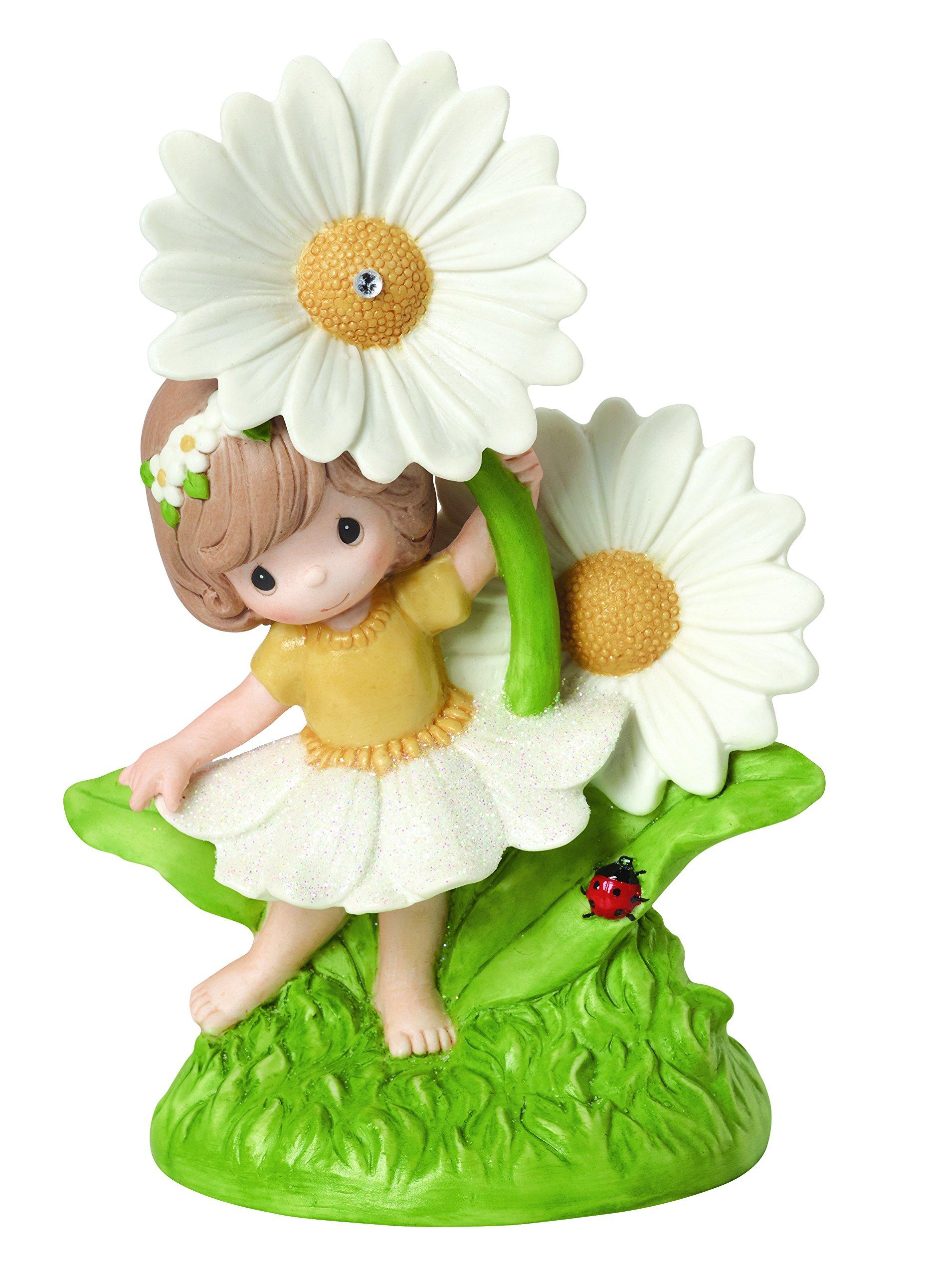 Precious Moments, You Make Everyday Brighter Bisque Porcelain Figurine, 154003 by Precious Moments