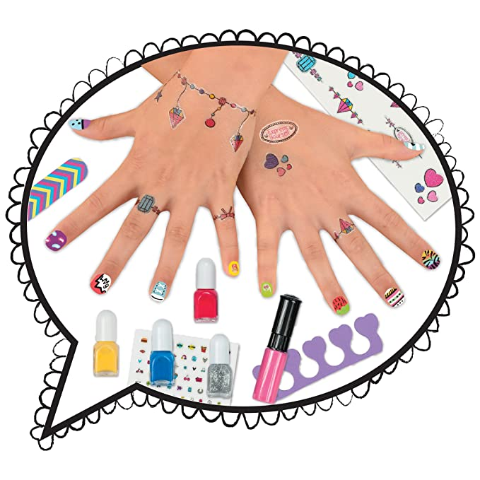 Galt nail art images nail art and nail design galt toys express yourself nail art studio amazon toys games solutioingenieria Gallery