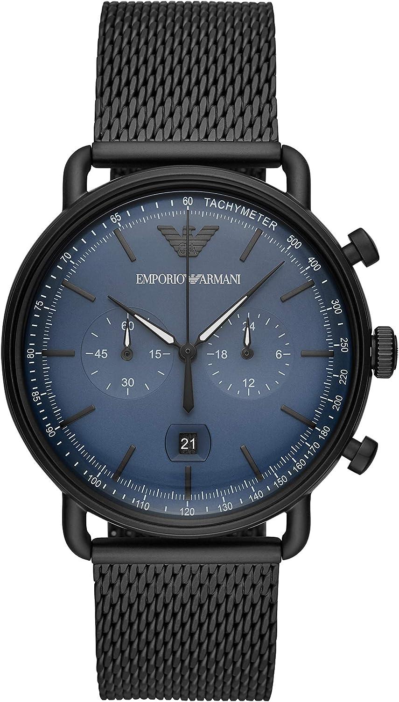 Emporio Armani Reloj Cronógrafo para Hombre de Cuarzo