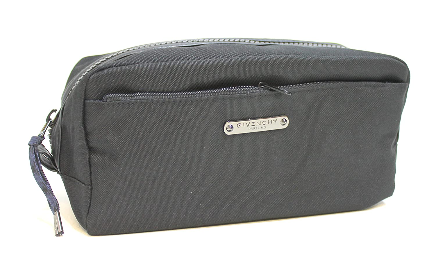 55c316361b GIVENCHY PARFUMS MENS BLACK BEAUTY CASE   WASH   TOILETRY BAG FOR TRAVEL   NEW  Amazon.co.uk  Luggage