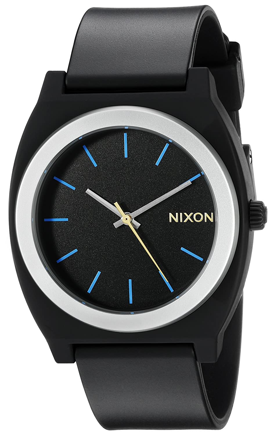 s nixon and teller leather en all gold men chrono black us watches time