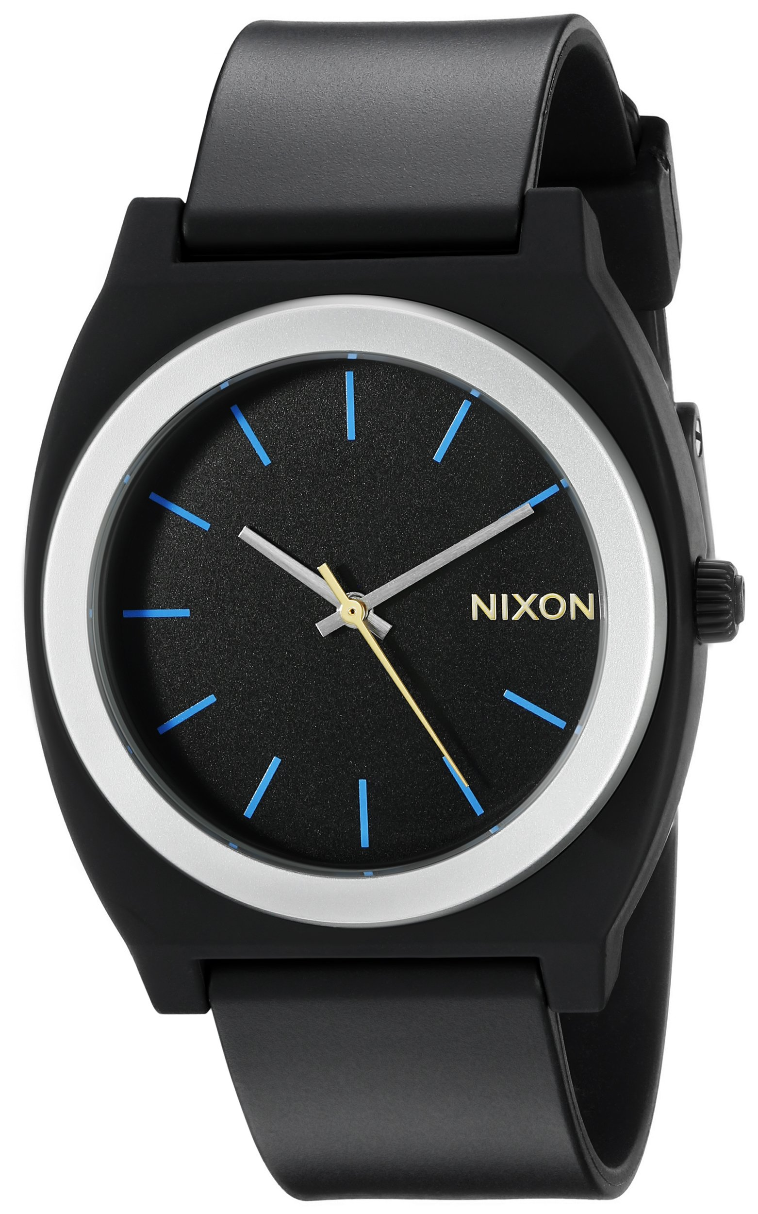 Nixon Men's A1191529-00 Time Teller P Analog Display Japanese Quartz Grey Watch