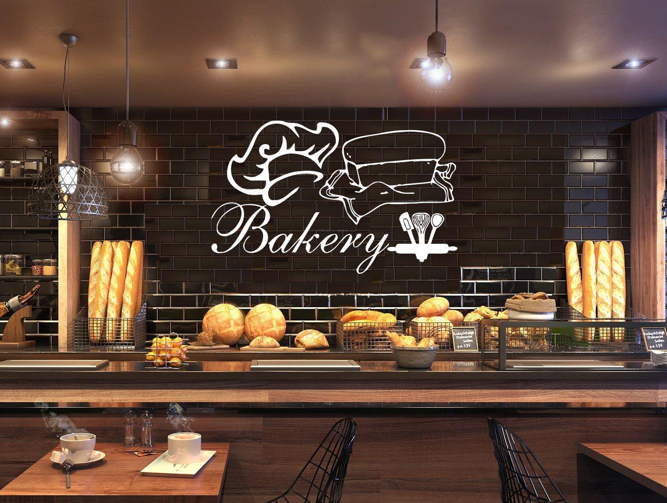 Amazon.com: Bakery Shop Logo Write your bakery name Bakeshop ...