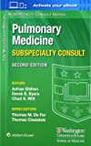 The Washington Manual Pulmonary Medicine Subspecialty Consult (The Washington Manual® Subspecialty Consult Series)