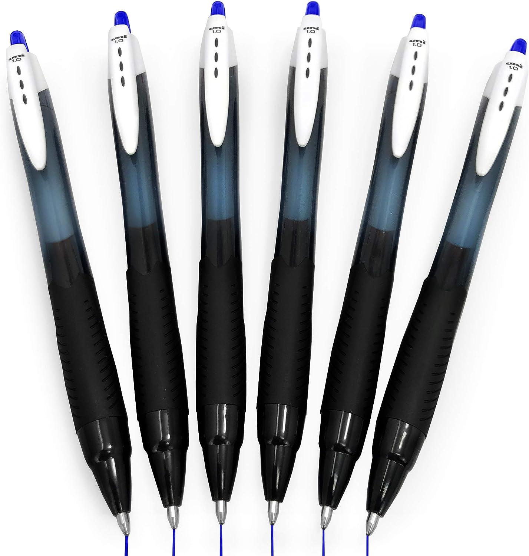 3 x Uni Ball Jetstream SXN-210 Premium Retractable Rollerball Pen