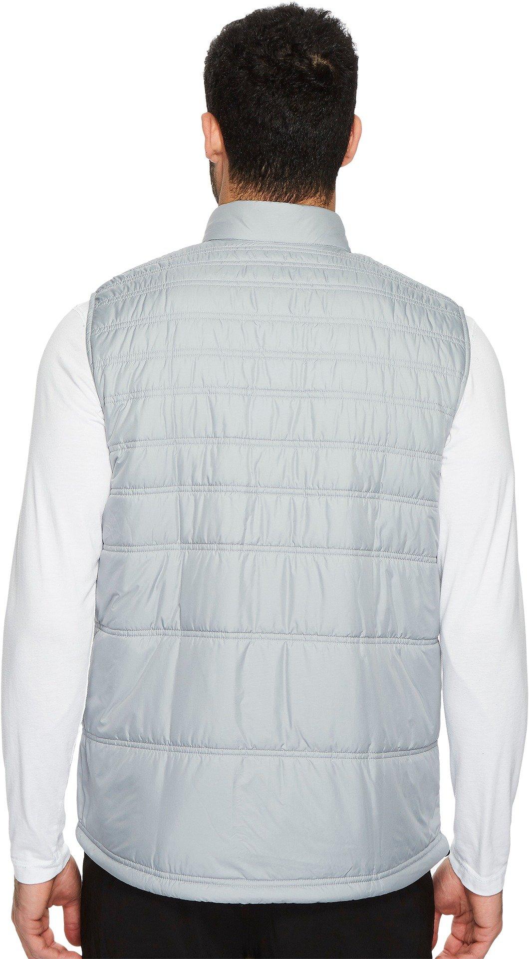 adidas Golf Men's Climaheat Primaloft Full Zip Vest, Mid Grey, XX-Large by adidas (Image #2)