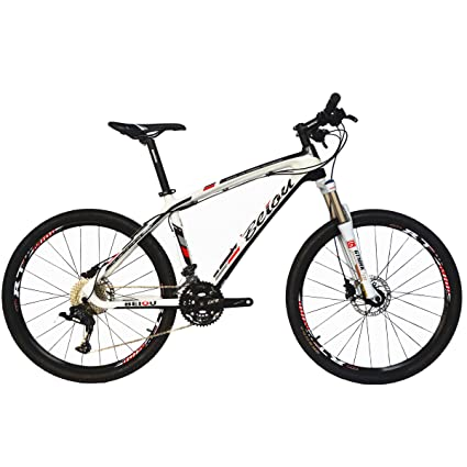 Carbon Fiber Mountain Bike >> Amazon Com Beiou Carbon Fiber Mountain Bike Hardtail Mtb Ltwoo 30