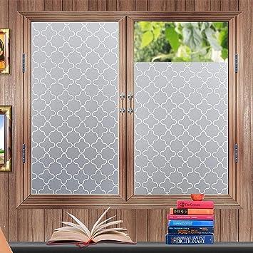 Amazoncom Soqool Privacy Static Cling Window Film Decorative