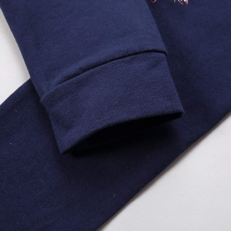 VIKITA Leggings Coton Longue Pantalon Printemps Et/é Filles 1-8 Ans