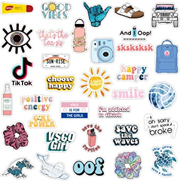 Amazon Com 34pcs Vsco Stickers For Hydro Flask Enjoyee Special