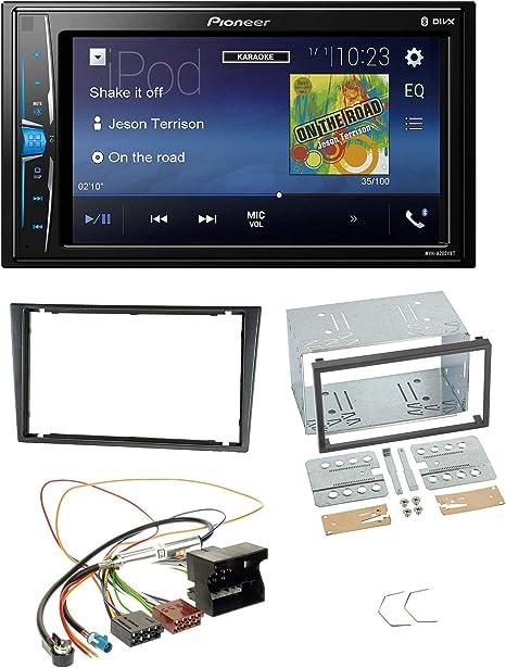 a partir de 2010 Pioneer CD USB Bluetooth aux mp3 autoradio para Opel Meriva B