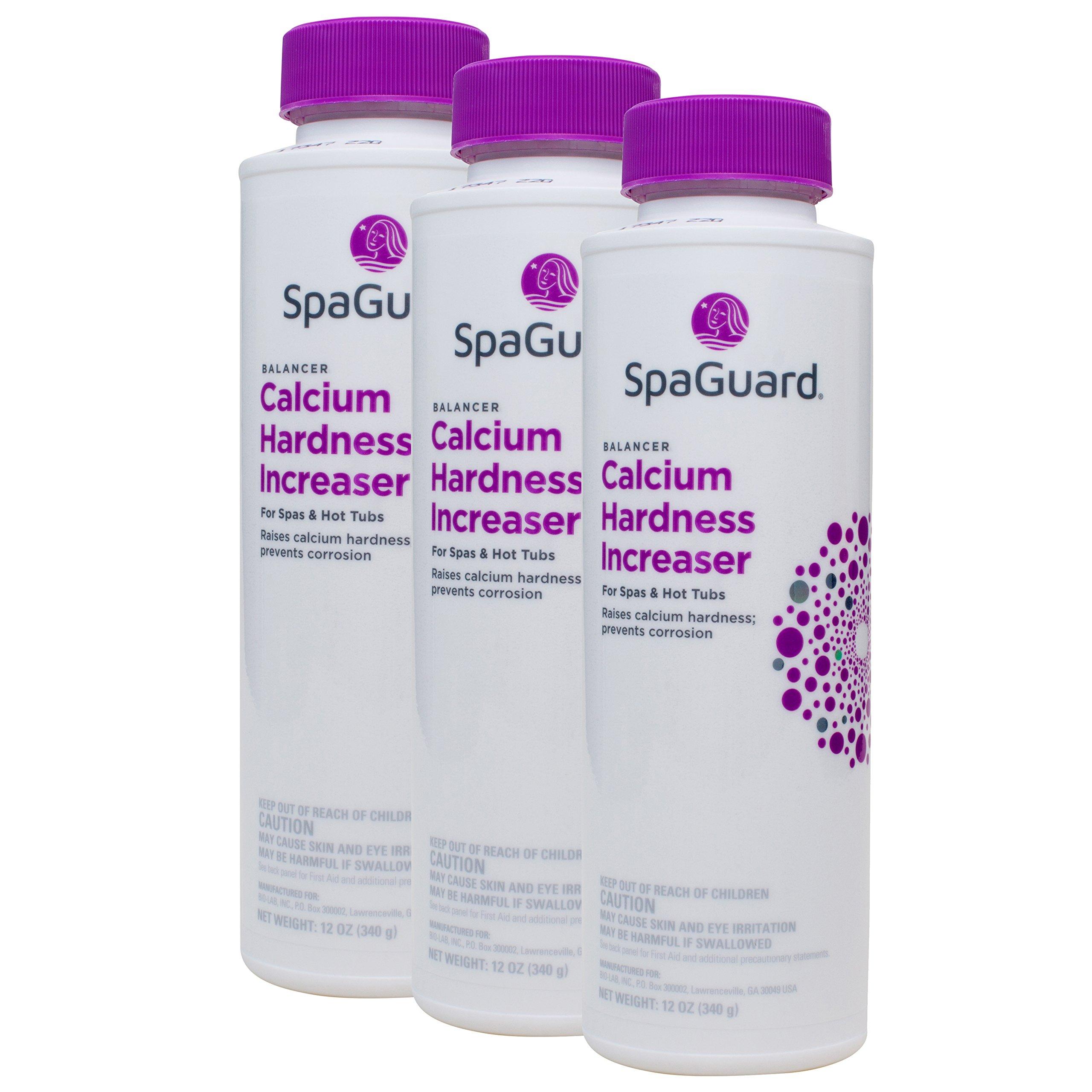 SpaGuard Spa Calcium Hardness Increaser (12 oz) (3 Pack)