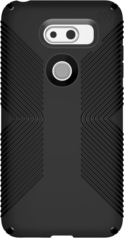 Speck Presidio Grip Case for LG V30 Presidio Grip (fits Sprint LG V30+), Black/Black