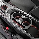 Auovo Anti-dust Door Mats for 2019 2018 2017 2016 2015 2014 2013 Subaru BRZ Toyota 86 Scion FR-S Door Pocket Liners Cup…