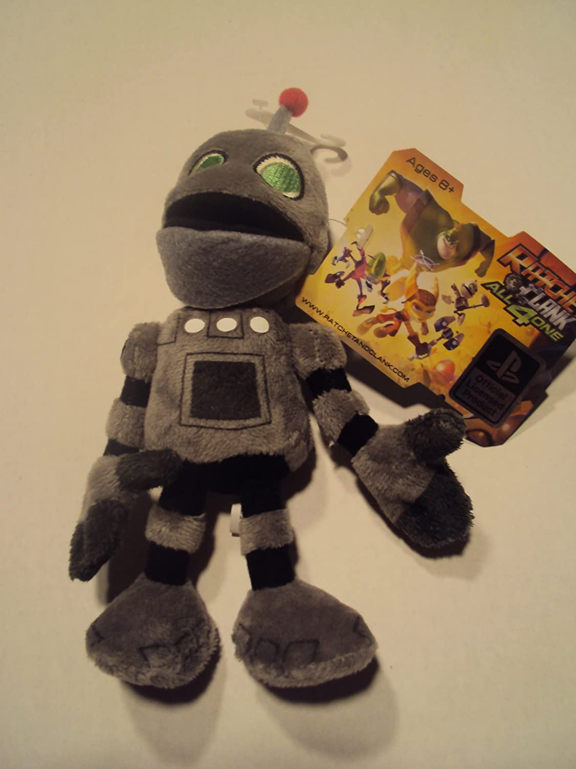 Ratchet & Clank All 4 One Plush Series 01 - Clank by Mezco: Amazon ...