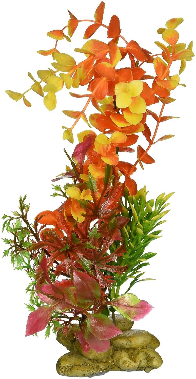 Creaciones Bacopa acuático acuario planta, 20,3 cm), color naranja: Amazon.es: Productos para mascotas