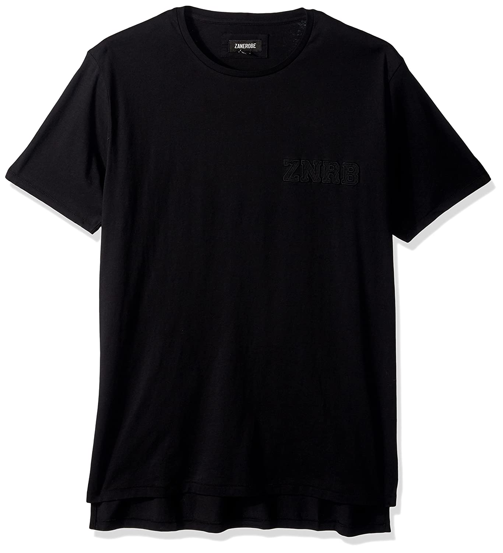 Zanerobe Mens Elongated Split Side Graduate Flintlock Short Sleeve T-Shirt