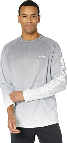 557655d6 Image Unavailable. Image not available for. Color: Columbia Men's Terminal  Deflector Printed Long Sleeve ...