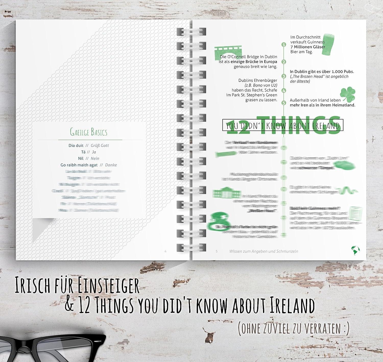 Reisetagebuch Irland zum selberschreiben / als Abschiedsgeschenk ...