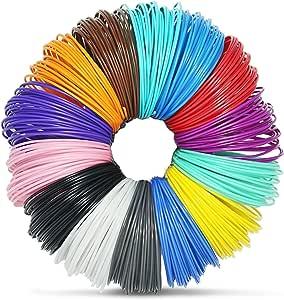 amazon com ailink 3d pen filament refills 1 75mm abs